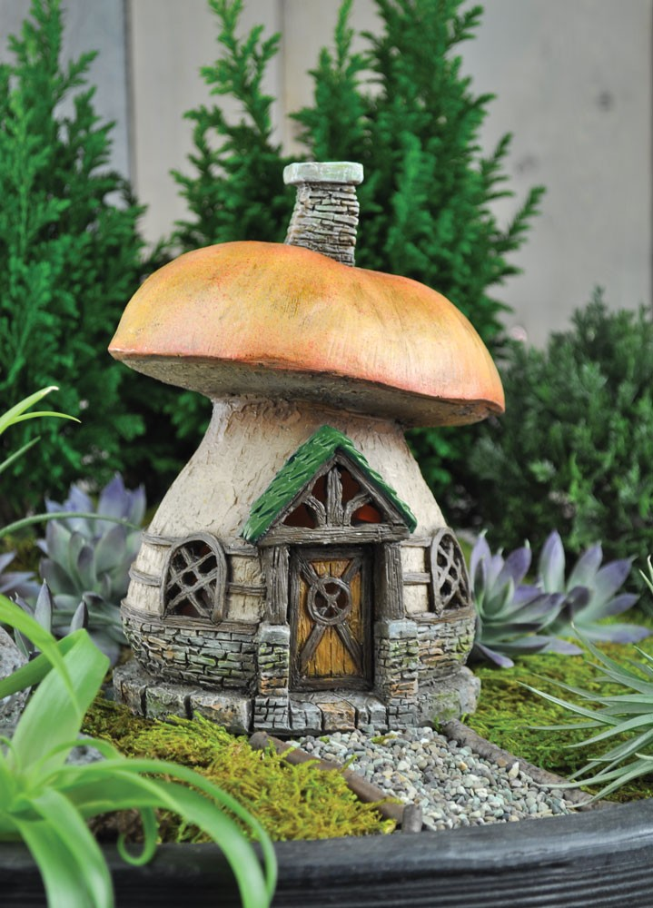 fairy mushroom house. Black Bedroom Furniture Sets. Home Design Ideas