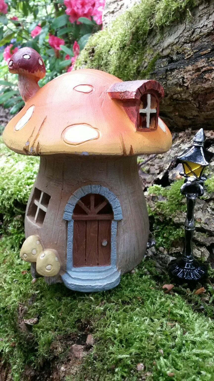 Mushroom House Fairygardensuk Co Uk