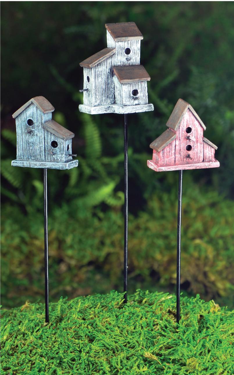 Rustic Birdhouses Fairy Gardens Uk