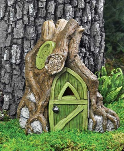 Fairy root house for Fairy house doors