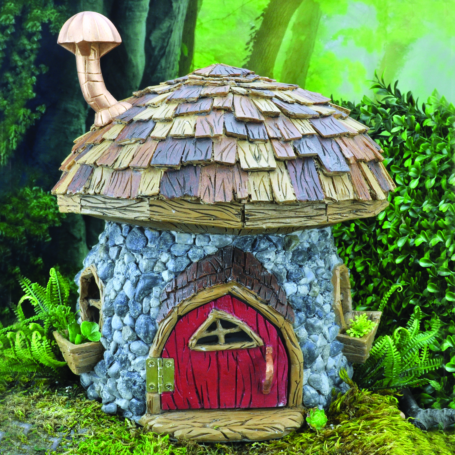 Shingletown Mushroom House Fairygardensuk Co Uk
