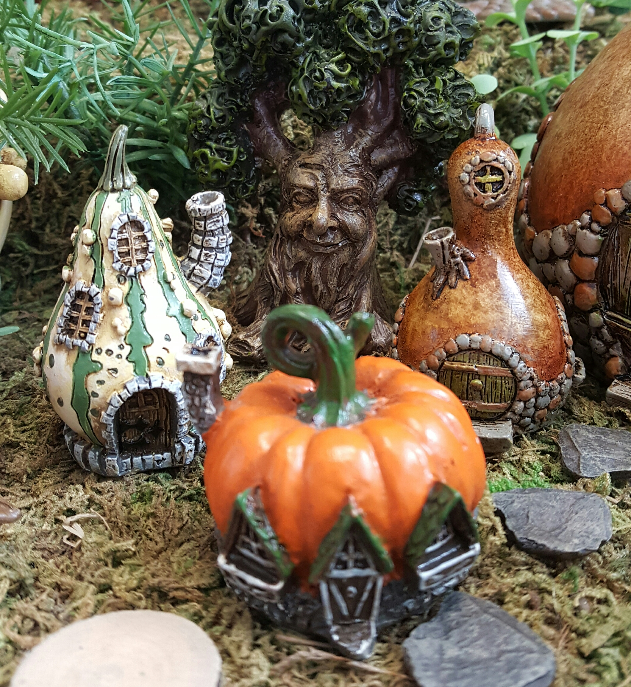Fairy Pumpkin House Fairygardensuk Co Uk
