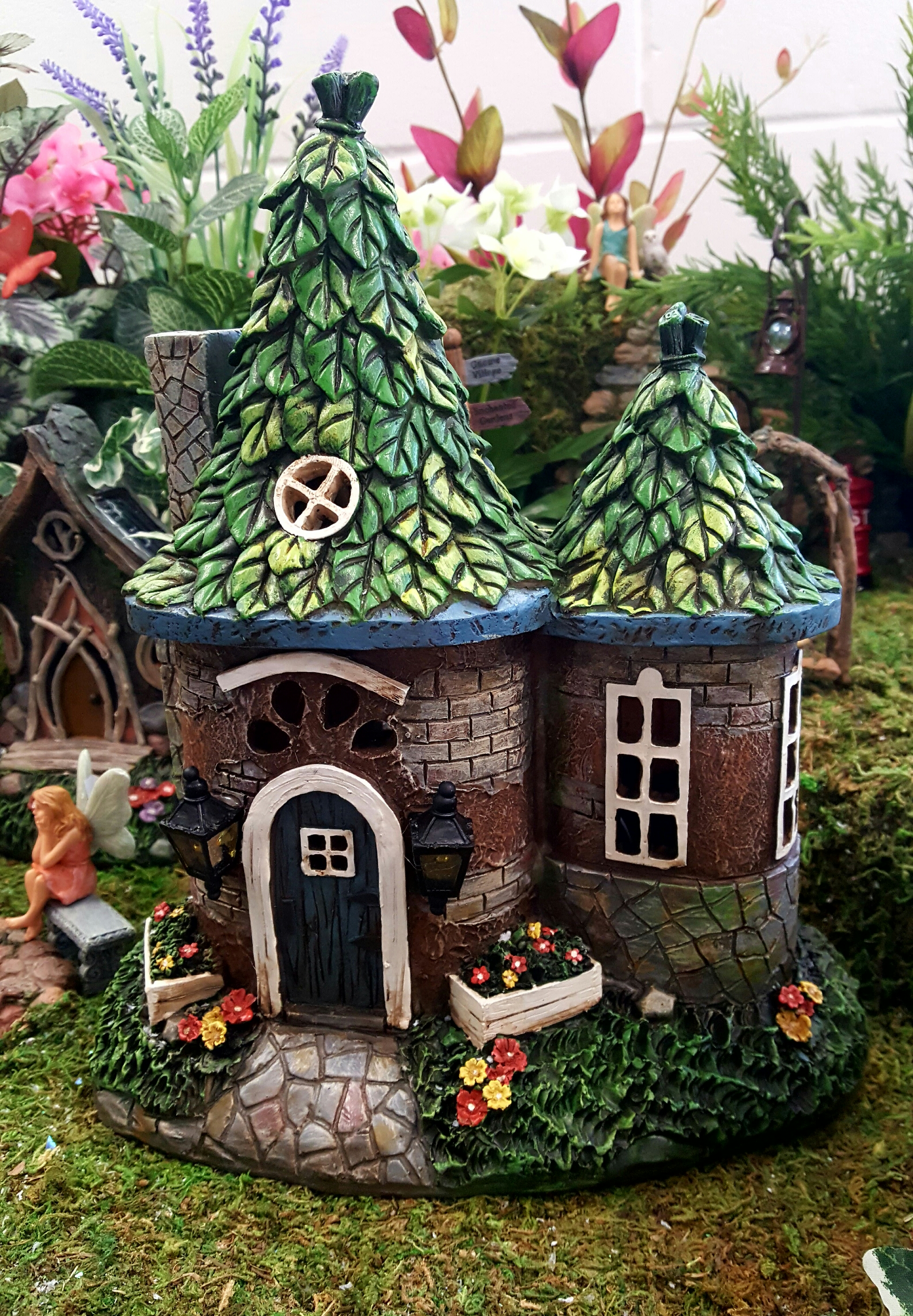 Solar Fairy House Fairygardensuk Co Uk
