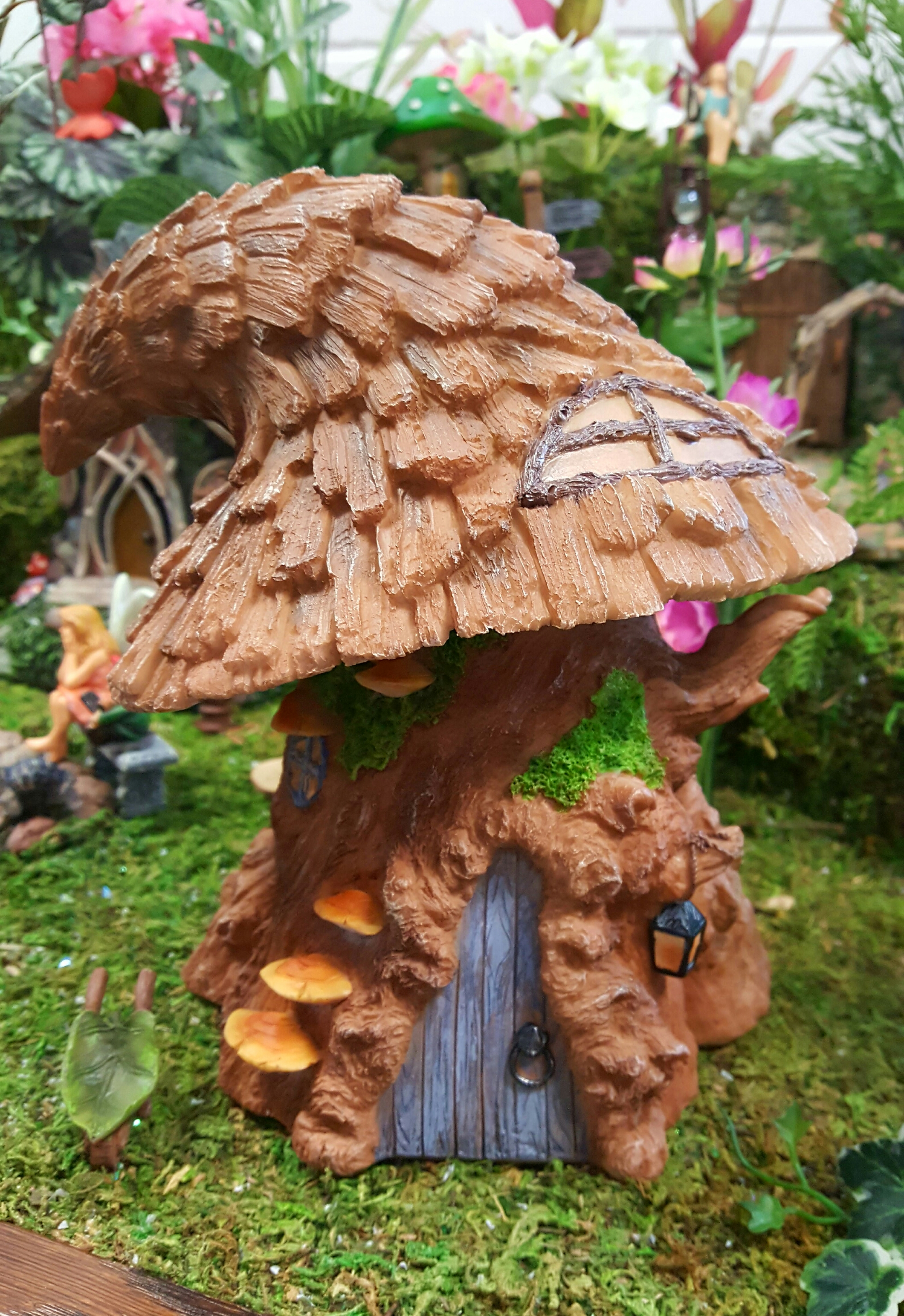 Witches Hat Tree House Fairygardensuk Co Uk