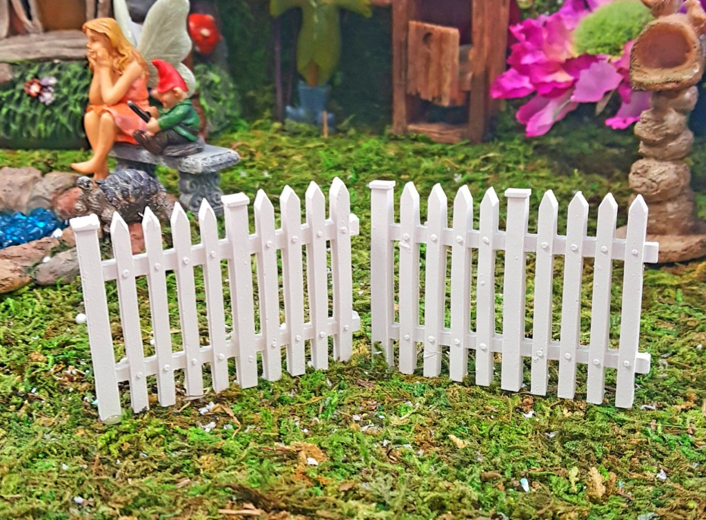 White Picket Fence Fairygardensuk Co Uk