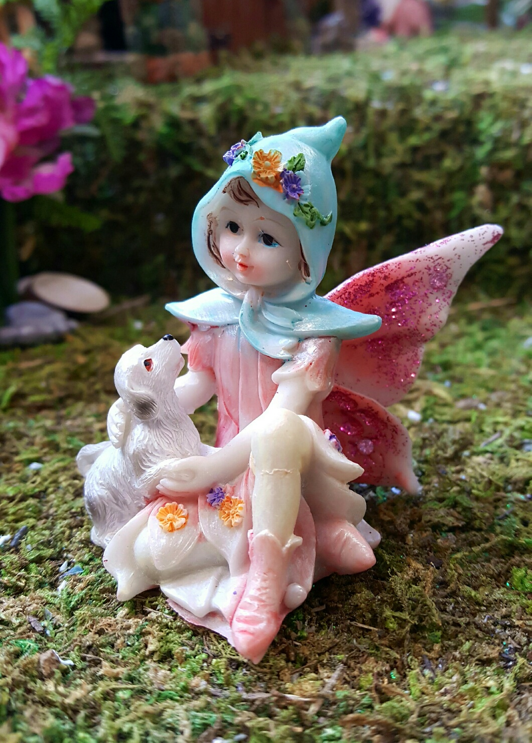 Fairies And Pets Friends Fairy Gardens Uk