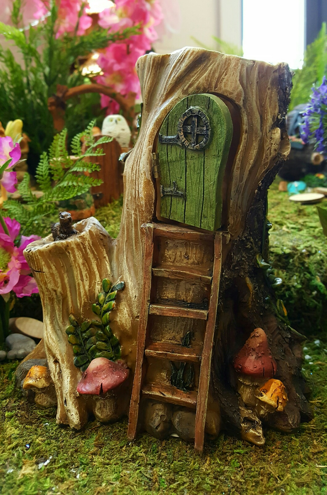 Sacred Stump Fairy Gardens Uk