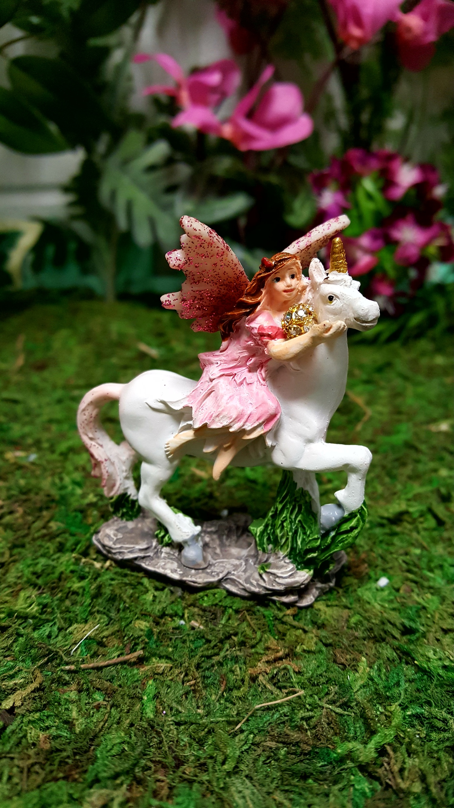 Flower Fairy And Unicorn In A Bag